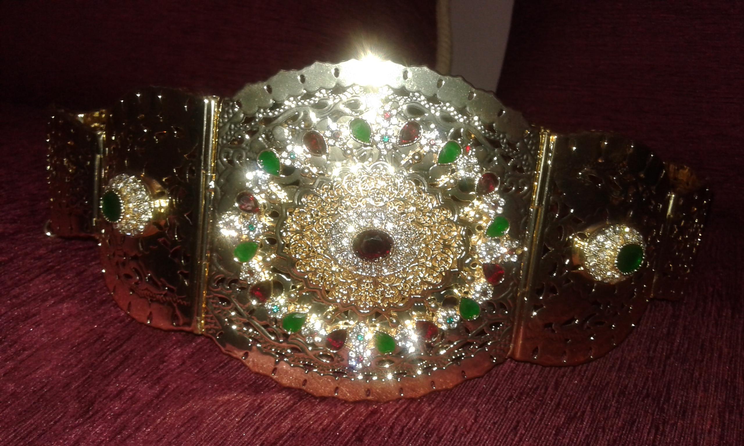 une tres belle ceinture pour kaftan ouedkniss