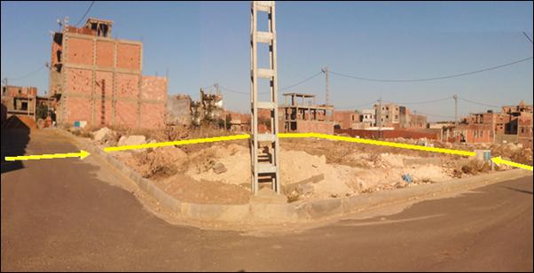 Lot de terrain Oran Sidi Maarouf ouedkniss