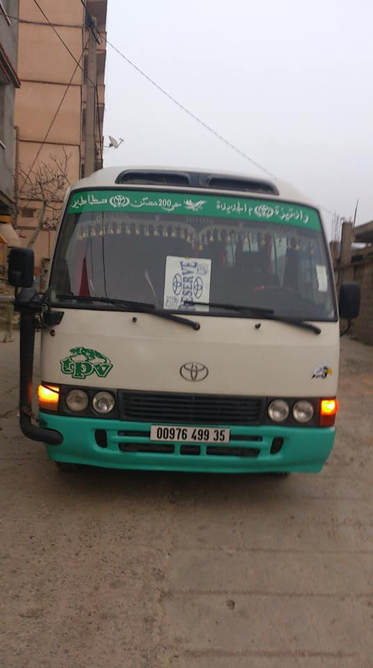 toyota coaster a vendre ouedknisse