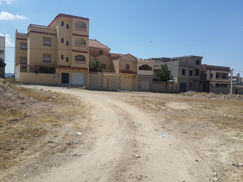 Terrains 1000 m² a tebessa situé a skanska ouedkniss