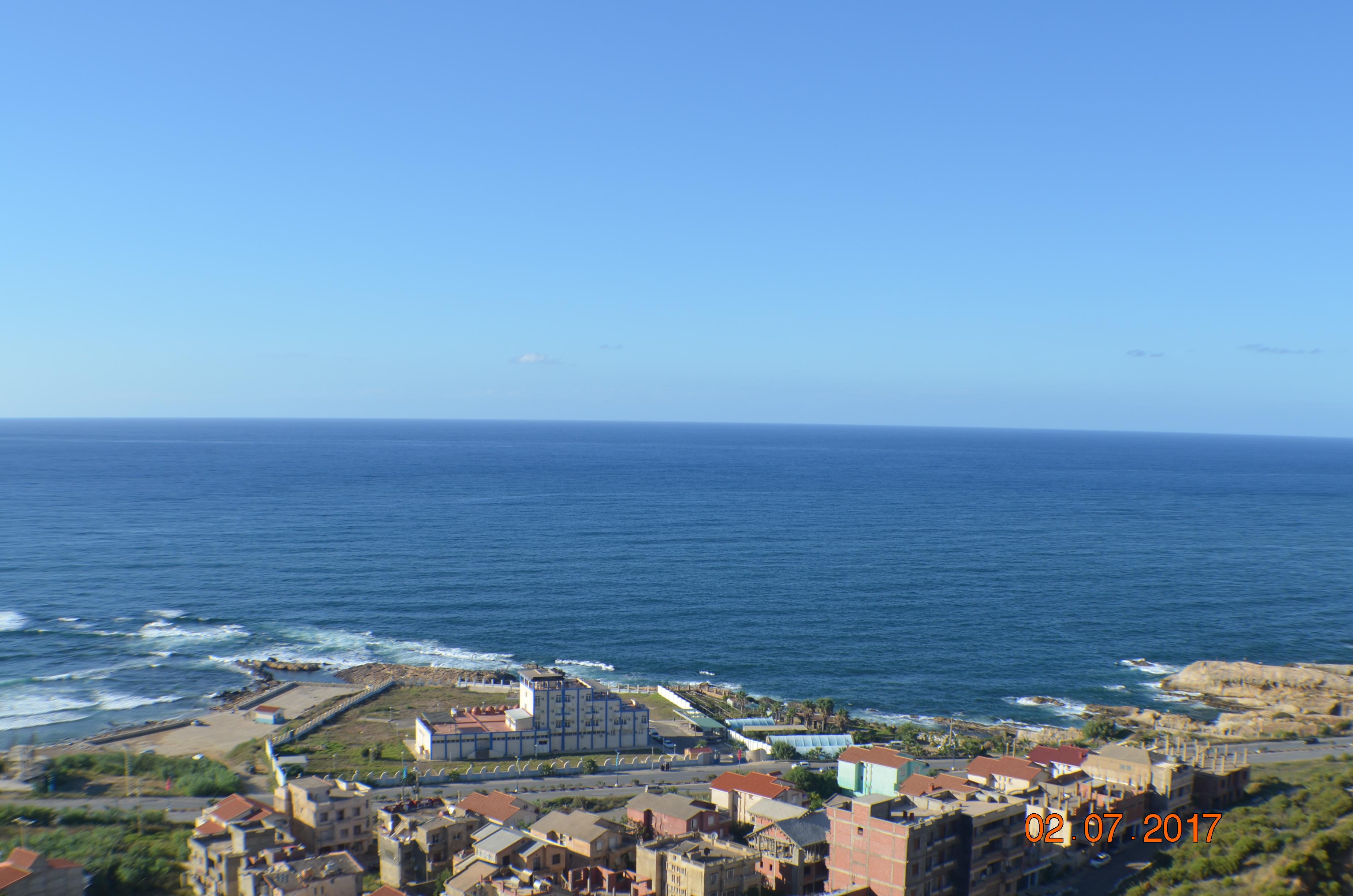 Location pour vacances appartement vue mer à Jijel, calme, parking ouedkniss