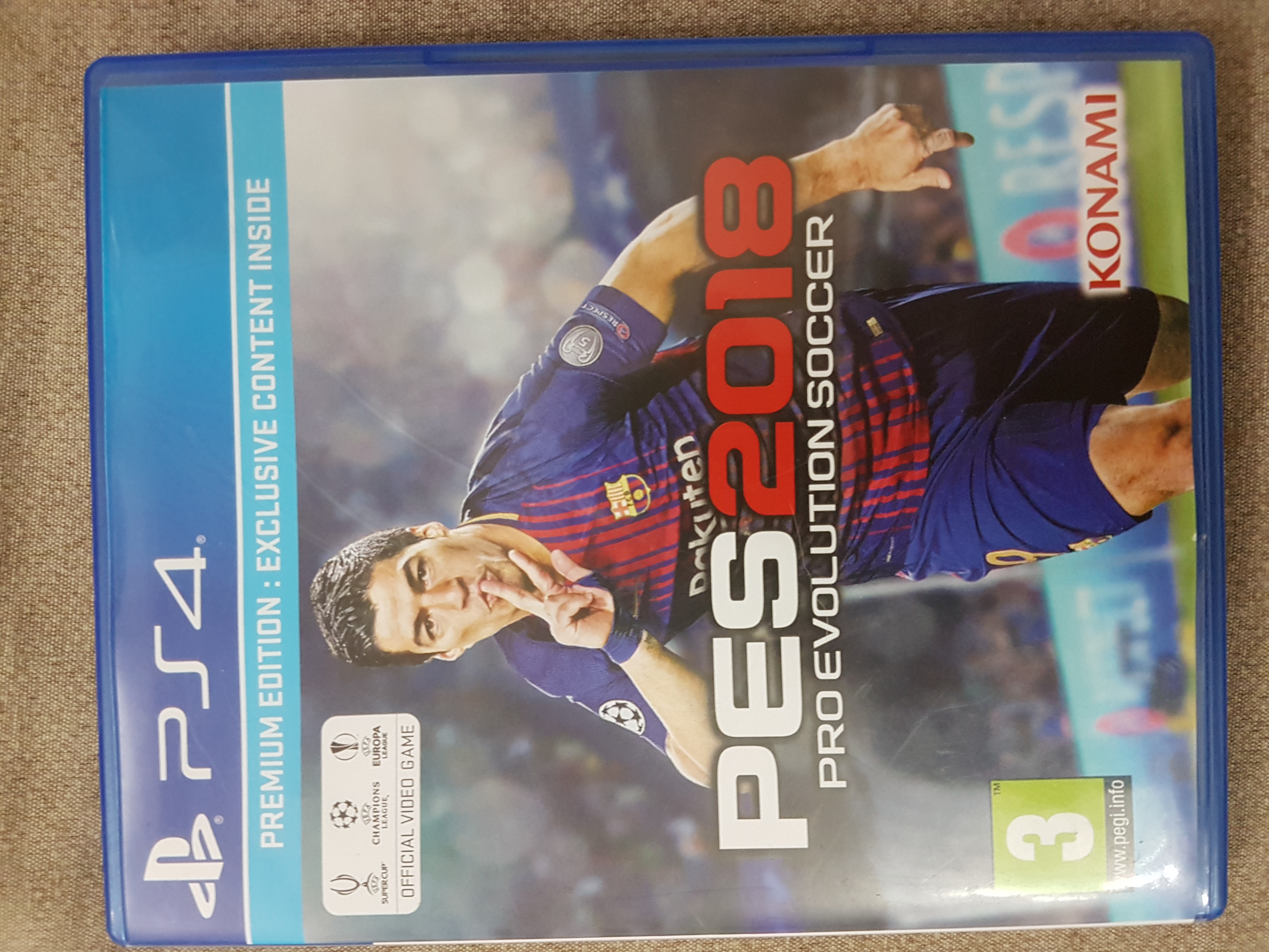 Pro Evolution Soccer 2018 (PREMIUM EDITION) PS4 ouedknisse